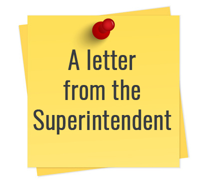 2019 - 2020 Superintendent's Newsletter
